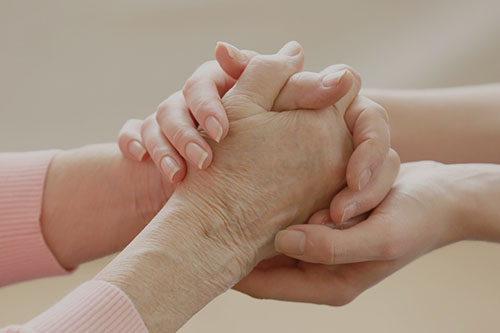Il caregiver e la badante